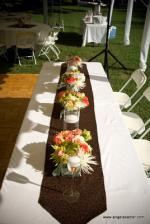 wedding flowers florist- Center Pieces