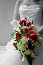 wedding flowers florist- Special wedding bouq ...